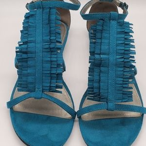 Shoes - Turquoise Sandals